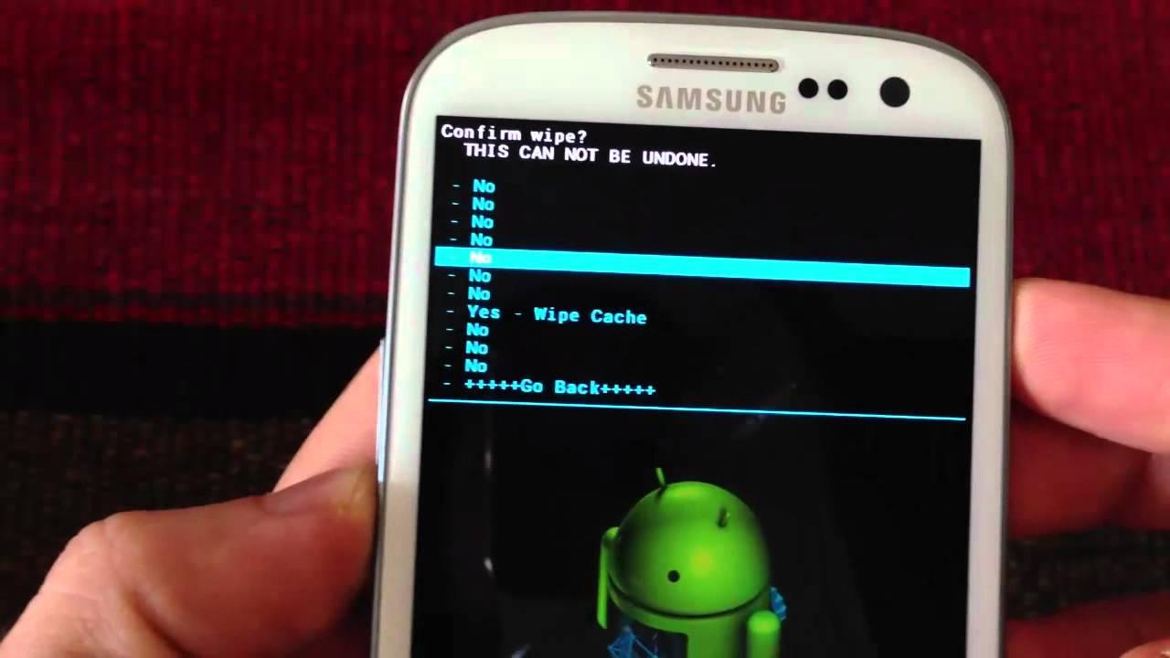 Возврат Android к заводскому состоянию с помощью Hard Reset