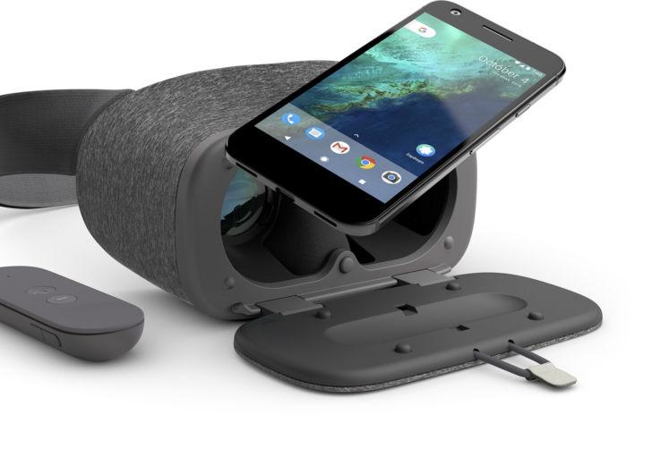 Daydream View - виртуальная реальность от Google