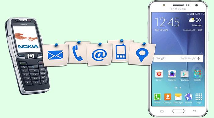 Способы переноса контактов с телефона Nokia на Android