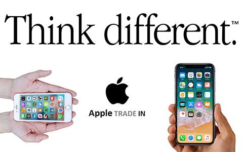 Покупай IPhone X и получай до $300 скидки по расширенной программе trade-in