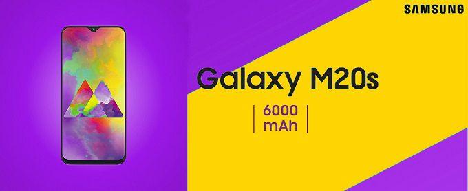 Смартфон с мощным аккумулятором Samsung Galaxy M20s, емкость батареи составит 5.830 мАч