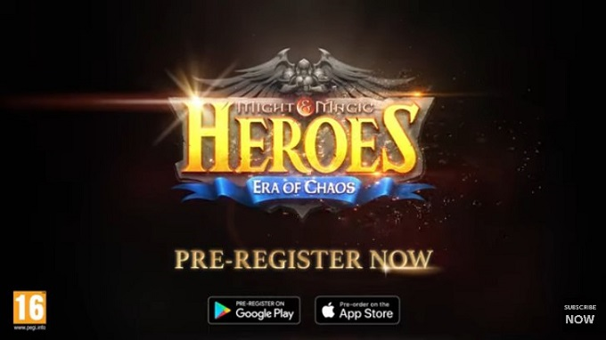 Новая стратегия Might & Magic Heroes: Era of Chaos выходит на мобильный телефон