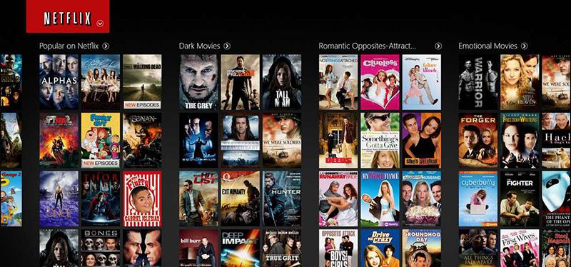 Онлайн медиасервис Netflix
